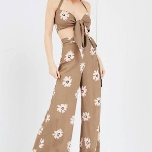 Flynn Skye Penelope Floral Tube Top Cropped Sexy